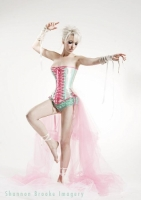 Laced Enchantment Over Bust Corset